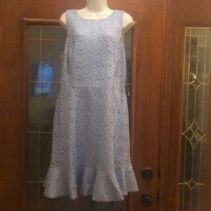 Blue lace really cute dress